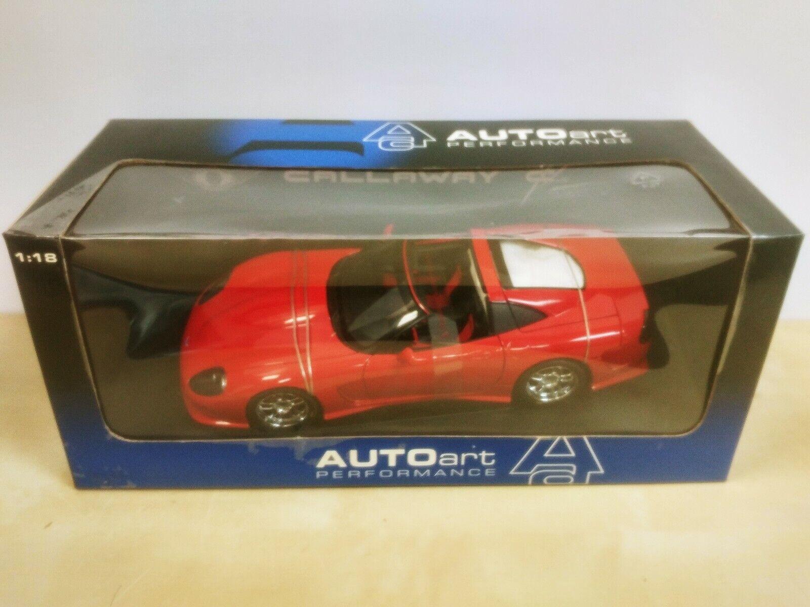 AUTOart Callaway C12 rosso 1 18 Brand New