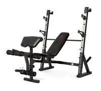 Marcy Diamond Olympic Surge Multipurpose Home Gym Workout Weight Bench   Md857