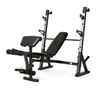 Marcy Diamond Olympic Surge Multipurpose Home Gym Workout Weight Bench | Md857