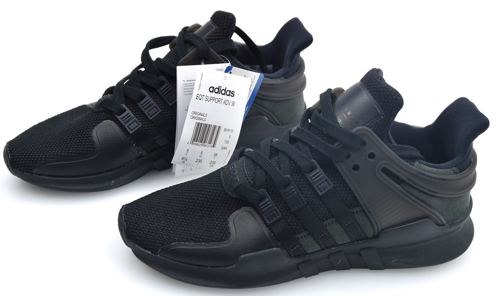 ADIDAS WOMAN SPORTS SNEAKER SHOES SYNTHETIC RUBBER CODE BY9110 EQT SUPPORT ADV W