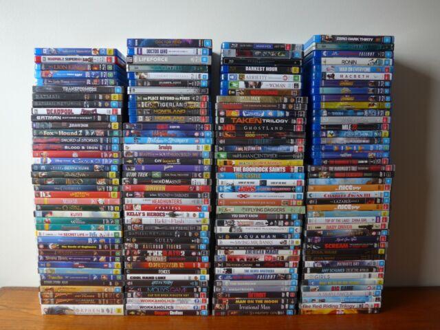 SUMMER SALE *159* Movies & TV shows on DVD/Blu-ray, all VGC - Dropdown menu