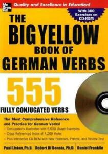 The-Big-Yellow-Book-of-German-Verbs-book-w-CD-ROM-555-Fully-Conjugated-Verbs