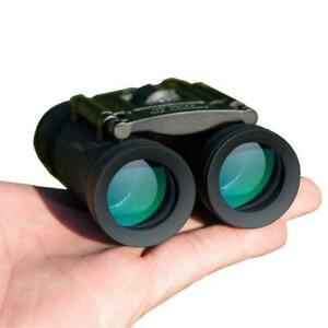 40x22 HD Foldable Binocular Zoom Telescope Professional Optical Night Vision