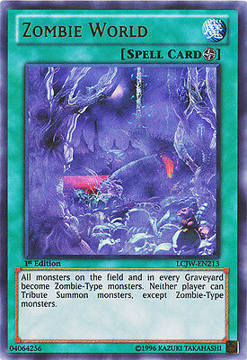 YuGiOh Zombie World - LCJW-EN213 - Ultra Rare - 1st Edition Near Mint