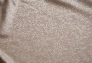Affordable-Luxury-Large-Wool-Shawl-India-Jamawar-Beige-amp-Turquoise-Jamavar