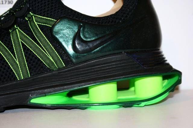 Nike schlucht shox schwere schwarze schlucht Nike grüne mens sz 13 ar1999-003 457f89