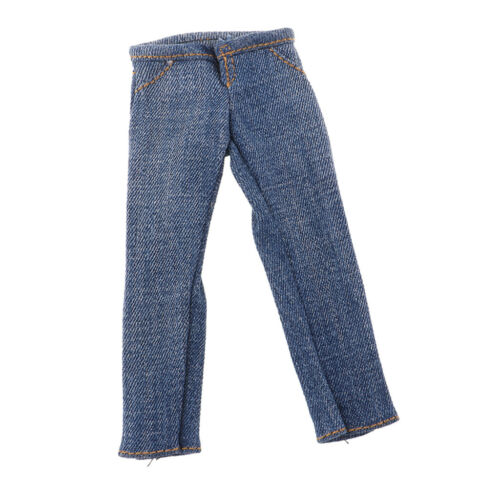 1:6 Scale Male Jeans Men/'s Pants for 12/'/' Male Soldier Figure Body Accessory