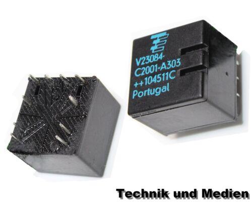 TYCO Relais V23084-C2001-A303 Reparatur Grundmodul BMW GM5 Zentralverriegelung