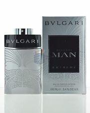 Unsealed Bvlgari Man Extreme Eau De Parfum Intense 3.4 oz /100mL for Men