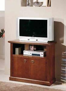 PORTA TV IN LEGNO,COLORE NOCE, NOCE CHIARO, CILIEGIO 86*40*80 H | eBay