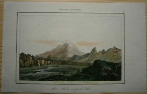 1840 print HEKLA, ICELAND (#13)