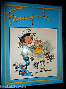 Gaston-Livre-d-039-or-Franquin-franzoesischer-Comic-Cartoon-Buch-Jacky-Goupil