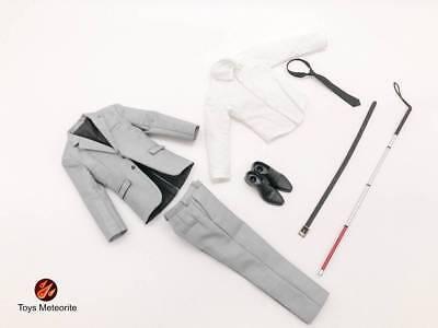 Toys Meteorite TM01 1 6th scale Daredevil Murdock Blind Man suit set HOT