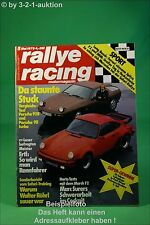 Rallye Racing 5/79 Porsche Turbo + 928 Datsun 280 ZX + Poster