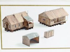 KMP Models HO Sawmill Outbuildings 1:87 Scale Logging Craftsman Kit