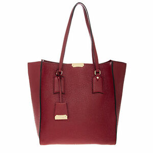 061bcdbe8f0e Image is loading Burberry-Medium-Signature-Grain-Leather-Woodbury-Tote-Bag-