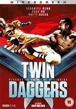 DVD:TWIN DAGGERS - NEW Region 2 UK