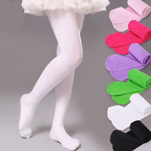 Pantyhose-Dance-Socks-Yoga-Foot-Tights-Stockings-Children-Girls-Gift-Candy-Color