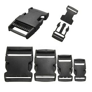 New-2-5-10PCS-PLASTIC-RELEASE-BUCKLES-CLIPS-FOR-WEBBING-20MM-25MM-40MM-50MM
