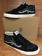 bd99f8e569 item 8 RARE🔥 VANS Sk8-Mid WTAPS Spider Webs Black Sz 13 Men s Shoes  Skateboarding VNTG -RARE🔥 VANS Sk8-Mid WTAPS Spider Webs Black Sz 13 Men s  Shoes ...