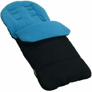 Footmuff-Cosy-Toes-Compatible-with-Joie-Nitro-Stroller-Lx-Pushchair-Ocean-Blue