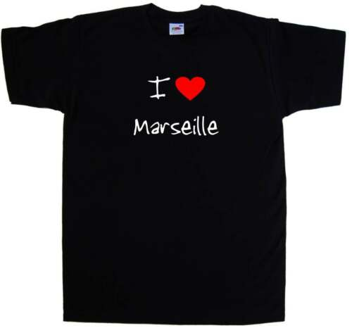 I Love Heart Marseille T-Shirt