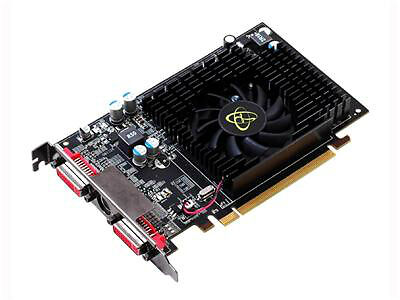 XFX ATI Radeon HD 4670 DH HD467XZDFR 1GB DDR2 SDRAM PCI Express Graphic Card - $13.40
