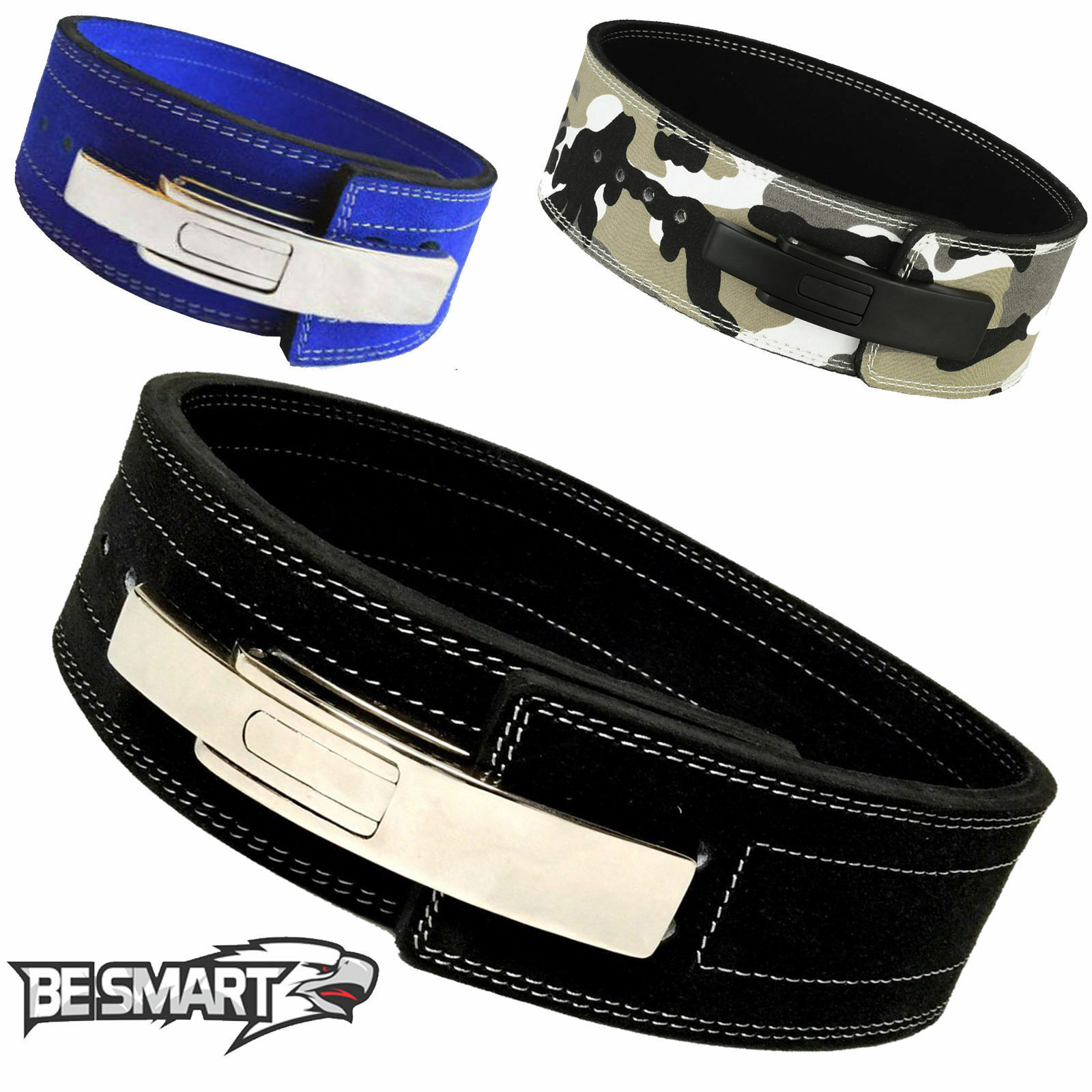 Weight Lifting Body building Leather Lever Power Belt 4  Wide