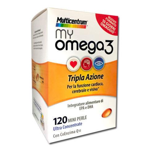 Multicentrum My Omega 3 120 Mini Perle