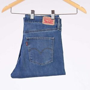 Levi-039-s-Slimming-Skinny-Forest-Lodge-blau-Damen-stretch-Jeans-33-34