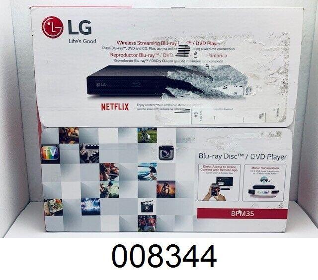 **NEW** LG BPM35 Blu-ray/DVD Streaming Player bpm35 player streaming