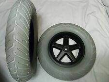 "14""x3"" (3.00-8) Pneumatic Wheels & Tires for Power Wheelchairs"