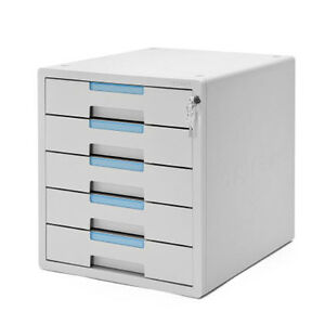 Security Key File Cabinet 5 Drawers a Filing Cabinet Files Storage ...