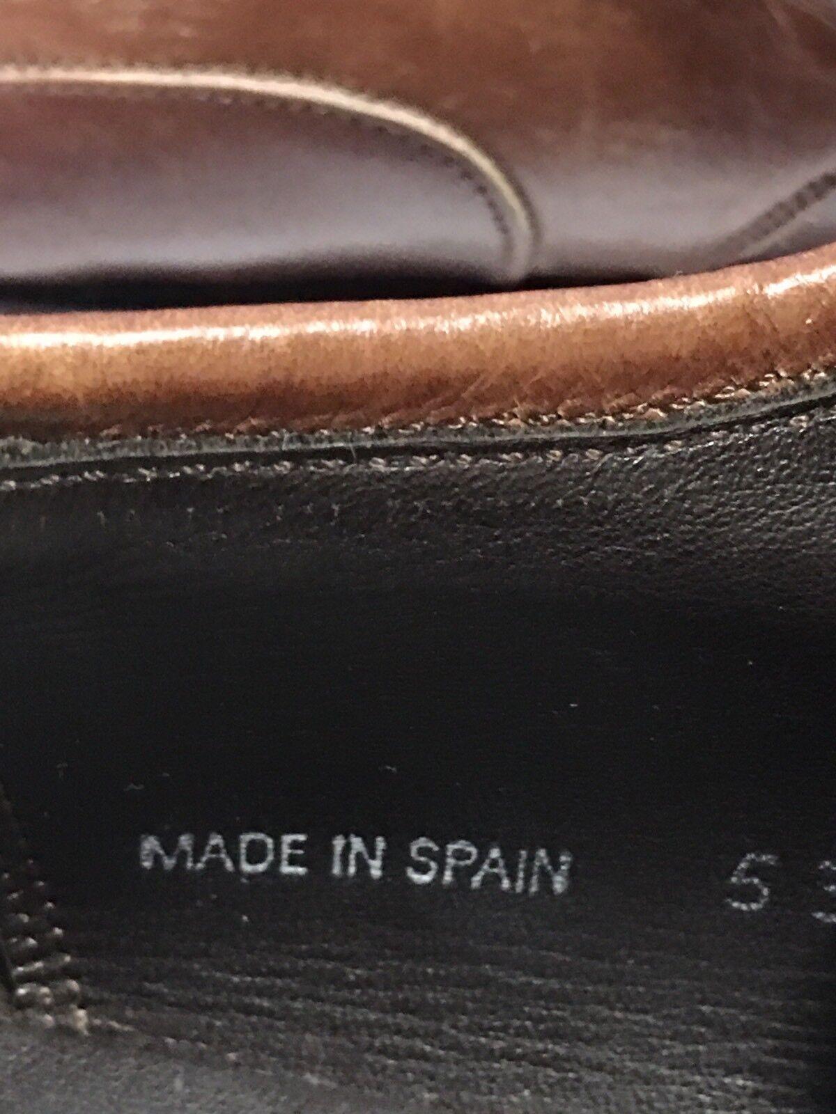 "Mezlan ""MALTA"" Mens Brown Tan Leather Square Toe … - image 4"