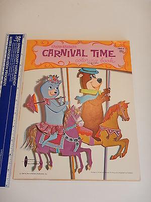 NOS Whitman Hanna Barbera/'s Yogi vs Magilla For President Coloring Book c 1964