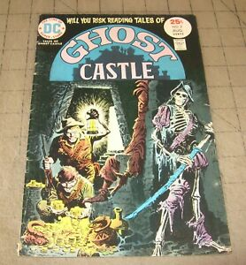 Tales-of-GHOST-CASTLE-2-Aug-1975-VG-Condition-Comic-Early-Lucien-Sandman