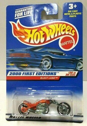 2000 Hot Wheels First Editions Blast Lane 96