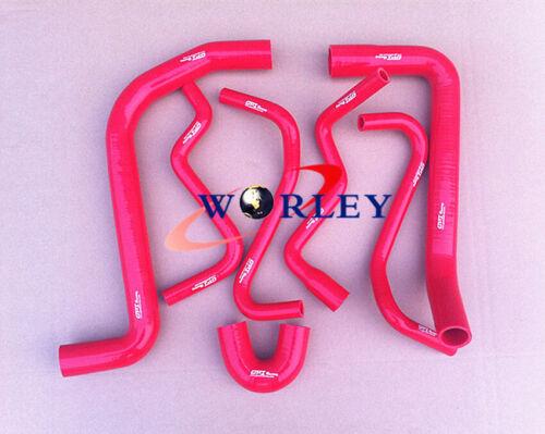 Silicone radiator hose for HOLDEN VT//VX//VU//WH Commodore V6 3.8L 1997-2002 RED