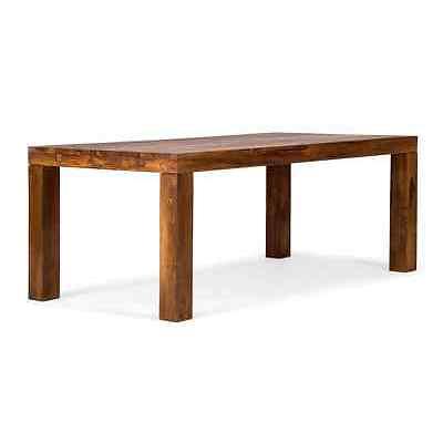 Esstisch Palisander 200x100 mit Ansteckplatten 280x100 Tisch massiv Holz CUBUS