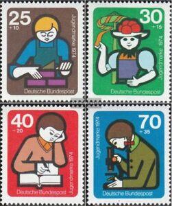 BRD-BR-Deutschland-800-803-kompl-Ausgabe-postfrisch-1974-Jugend-Jugendarbei