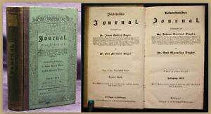 Dingler-Polytechnisches-Journal-90-Bd-1843-Technik-Geschichte-Zeitschrift-sf