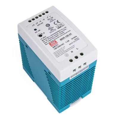 MDR-100-24 ; Hutschienennetzteil Hutschienen Netzteil 96W 24V 4A ; MeanWell