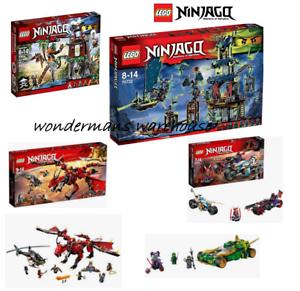 Lego Ninjago Sets - Firstbourne / La ville de Stix / Tiger Widow Island & More Nouveau