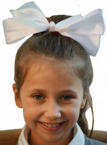 Dance-Solo-Troupes-Shows-Stage-LARGE CLIP ON BOW HAIR ACCESSORY