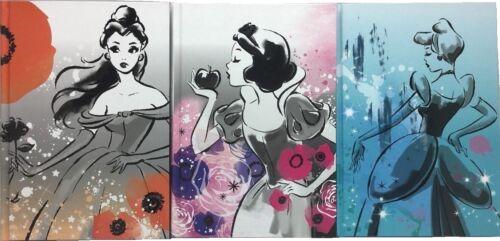 Disney Princess School Journal Diary Notebook Belle Snow White Cinderella 112 Sh