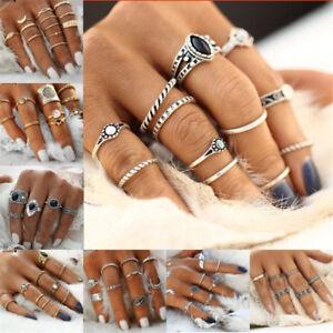 12pcs-Boho-Silver-Gold-Stack-Plain-Above-Knuckle-Ring-Midi-Finger-Rings-Set-Gift