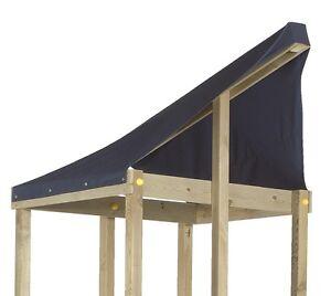 textildach spielturm ersatzdach foyer dach plane planendach f r kletterturm blau ebay. Black Bedroom Furniture Sets. Home Design Ideas