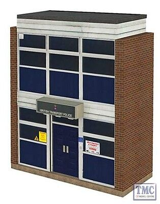 44-235 Bachmann Scenecraft Oo Gauge Low Relief British Transport Police Station