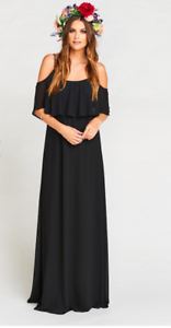 bdea6aef4ed Show Me Your Mumu Caitlin Ruffle Cold Shoulder Maxi Gown Dress ...