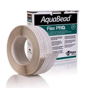 Rigips AquaBead Flex PRO 25m 85mm Kantenschutz selbstklebend Trockenbau Ecke